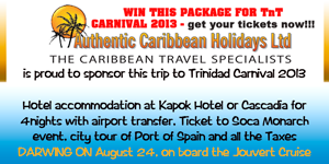 Authentic Caribbean Holidays LTD
